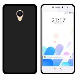 Funda Gel Tpu para Meizu M5C Color Negra