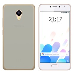 Funda Gel Tpu para Meizu M5C Color Transparente