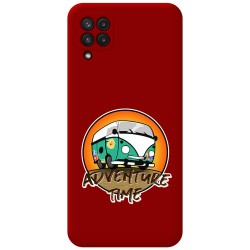 Funda Silicona Líquida Roja para Samsung Galaxy A22 LTE 4G diseño Adventure Time Dibujos