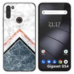 Funda Silicona para Gigaset GS4 diseño Mármol 05 Dibujos