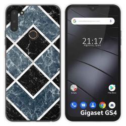Funda Silicona para Gigaset GS4 diseño Mármol 06 Dibujos