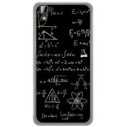 Funda Gel Tpu para Hisense C30 Rock Diseño Formulas Dibujos