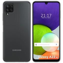 Funda Silicona Gel TPU Transparente para Samsung Galaxy A22 LTE 4G