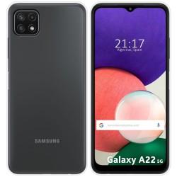 Funda Silicona Gel TPU Transparente para Samsung Galaxy A22 5G