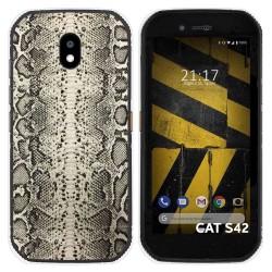 Funda Silicona para Cat S42 / S42 H+ diseño Animal 01 Dibujos