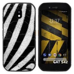 Funda Silicona para Cat S42 / S42 H+ diseño Animal 02 Dibujos