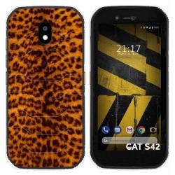 Funda Silicona para Cat S42 / S42 H+ diseño Animal 03 Dibujos