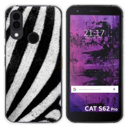 Funda Silicona para Cat S62 Pro diseño Animal 02 Dibujos