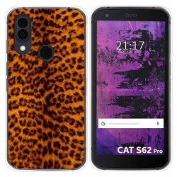 Funda Silicona para Cat S62 Pro diseño Animal 03 Dibujos