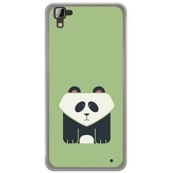 Funda Gel Tpu para Hisense C30 Rock Diseño Panda Dibujos