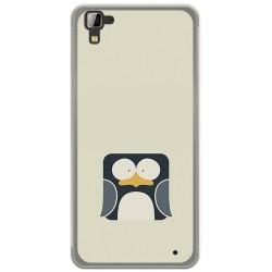 Funda Gel Tpu para Hisense C30 Rock Diseño Pingüino Dibujos