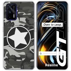 Funda Silicona para Realme GT 5G diseño Camuflaje 02 Dibujos