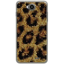 Funda Gel Tpu para Hisense U962 Diseño Leopardo Dibujos