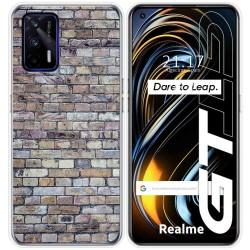 Funda Silicona para Realme GT 5G diseño Ladrillo 02 Dibujos