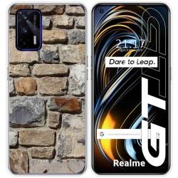 Funda Silicona para Realme GT 5G diseño Ladrillo 03 Dibujos
