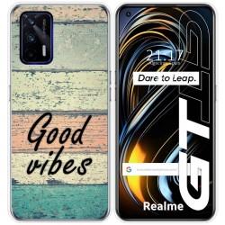 Funda Silicona para Realme GT 5G diseño Madera 01 Dibujos