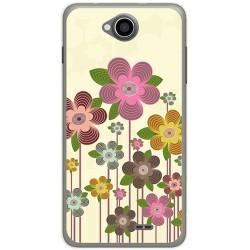 Funda Gel Tpu para Hisense U962 Diseño Primavera En Flor Dibujos