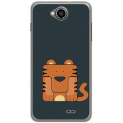 Funda Gel Tpu para Hisense U962 Diseño Tigre Dibujos