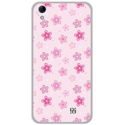 Funda Gel Tpu para Homtom HT16 / HT16 Pro Diseño Flores Dibujos
