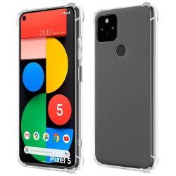Funda Gel Tpu Anti-Shock Transparente para Google Pixel 5 5G