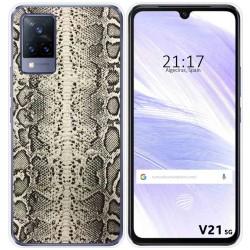 Funda Silicona para Vivo V21 5G diseño Animal 01 Dibujos