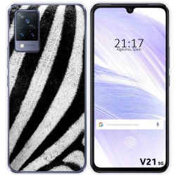 Funda Silicona para Vivo V21 5G diseño Animal 02 Dibujos