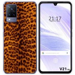 Funda Silicona para Vivo V21 5G diseño Animal 03 Dibujos