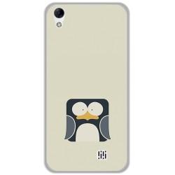Funda Gel Tpu para Homtom HT16 / HT16 Pro Diseño Pingüino Dibujos