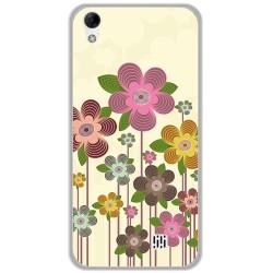 Funda Gel Tpu para Homtom HT16 / HT16 Pro Diseño Primavera En Flor  Dibujos