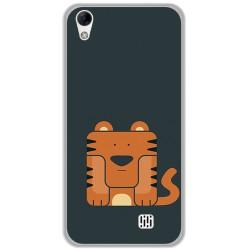 Funda Gel Tpu para Homtom HT16 / HT16 Pro Diseño Tigre Dibujos