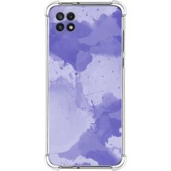 Funda Silicona Antigolpes para Samsung Galaxy A22 5G diseño Acuarela 01 Dibujos