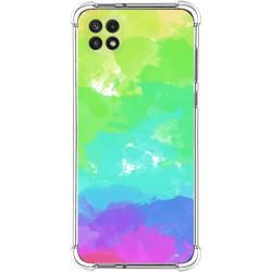 Funda Silicona Antigolpes para Samsung Galaxy A22 5G diseño Acuarela 03 Dibujos