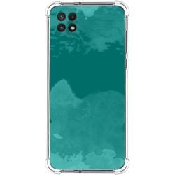 Funda Silicona Antigolpes para Samsung Galaxy A22 5G diseño Acuarela 06 Dibujos