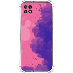 Funda Silicona Antigolpes para Samsung Galaxy A22 5G diseño Acuarela 07 Dibujos