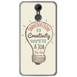 Funda Gel Tpu para Homtom HT27 Diseño Creativity Dibujos