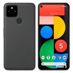 Funda Silicona Gel TPU Transparente para Google Pixel 5 5G