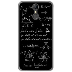 Funda Gel Tpu para Homtom HT27 Diseño Formulas Dibujos