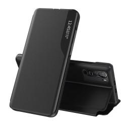 Funda Libro Soporte Magnética Eco Piel con Ventana para Xiaomi POCO F3 5G / Mi 11i 5G Negra