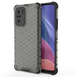 Funda Tipo Honeycomb Armor (Pc+Tpu) Negra para Xiaomi POCO F3 5G / Mi 11i 5G