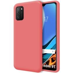 Funda Silicona Líquida Ultra Suave para Xiaomi POCO M3 / Redmi 9T color Rosa