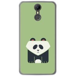 Funda Gel Tpu para Homtom HT27 Diseño Panda Dibujos