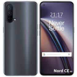 Funda Silicona Gel TPU Transparente para OnePlus Nord CE 5G