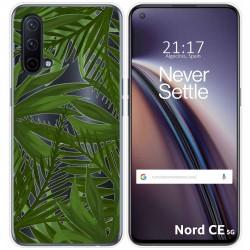 Funda Silicona Transparente para OnePlus Nord CE 5G diseño Jungla Dibujos