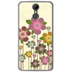 Funda Gel Tpu para Homtom HT27 Diseño Primavera En Flor Dibujos
