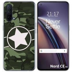 Funda Silicona para OnePlus Nord CE 5G diseño Camuflaje 01 Dibujos