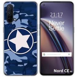 Funda Silicona para OnePlus Nord CE 5G diseño Camuflaje 03 Dibujos