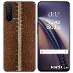 Funda Silicona para OnePlus Nord CE 5G diseño Cuero 01 Dibujos