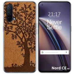 Funda Silicona para OnePlus Nord CE 5G diseño Cuero 03 Dibujos
