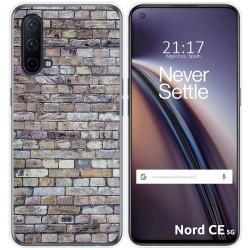 Funda Silicona para OnePlus Nord CE 5G diseño Ladrillo 02 Dibujos