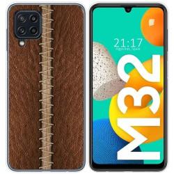Funda Silicona para Samsung Galaxy M32 diseño Cuero 01 Dibujos